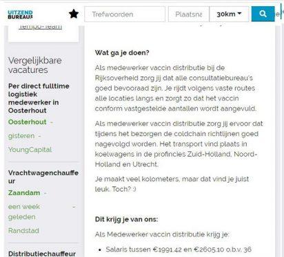 Ogen Open Mensen!!! - Scholen Open - Consultatie,s Bureau,s Worden Bevoorraad Met Vaccin,s 2